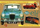 Riley Elf II 1963 Car Jumbo Fridge Magnet (N)
