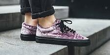 Vans Old Skool Velvet- Sea Fog/Black Women's 9