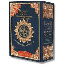 Tajweed Qur'an (Whole Quran With Meaning Translation English) Arabic HardCover