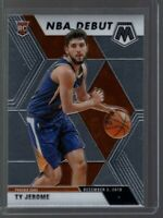 Ty Jerome RC 2019-20 MOSAIC NBA Debut Rookie Card #273 Phoenix Suns Base Card