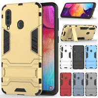 For Samsung Galaxy A10e A70 A50 A40 A30 A20 A10 Rugged Armor Stand Cover Case