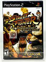 Street Fighter Anniversary Collection - PS2 - Brand New | Factory Sealed
