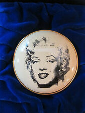 Halcyon Days Enamel  Gold MARILYN MONROE Inspired by  Andy Warhol  Pocket Mirror