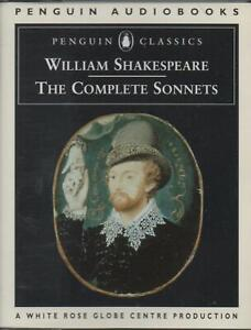 SHAKESPEARE: THE COMPLETE SONNETS ~ Two-Cassette Audiobook