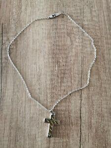 Emporio Armani Kette mit Kreuz