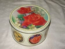 A Rarer 1980's Arnotts Australian Style 900g Selection of Roses Biscuit Tin
