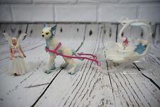 Schleich Bayala Ice Sleigh Fairy Elf Animal Lot Rare Hard To Find *Read*