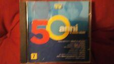 COMPILATION - 50 ANNI DI CANZONI ITALIANE VOL. 7 ( EDIZIONE MONDADORI ). CD