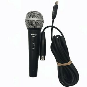 Shure C606 Handheld Vocal Recording Mic Performance Microphone Cable Included