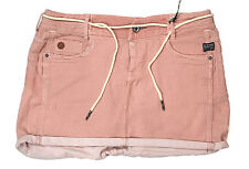 G-Star Mini Skirt Comfort Harvey Twill Tea Rose Size 29