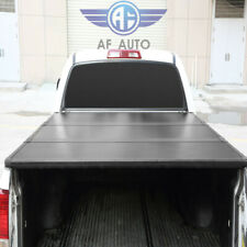 Lock Hard Solid Tri-Fold Tonneau Cover For Ford F-150 2004-2018 5.5ft Truck Bed