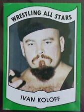 1982  IVAN KOLOFF WRESTLING ALL STARS CARD 24 SERIES A Not Andre or Hogan