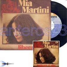"""MIA MARTINI """"LIBERA"""" RARE 45RPM MADE IN ITALY MINT - EUROVISION"""
