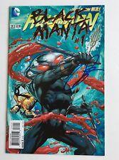 Yahya Abdul-Mateen II Signed Autographed Aquaman 23.1 Black Manta #1 Comic