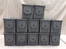 12 PACK of M2a1 50/5.56 Cal AMMO CAN VERY GOOD CONDITION-