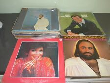 "Huge lot of 50 Vynil 12"" 33 RPM records various artists and genre 1973 onwards"