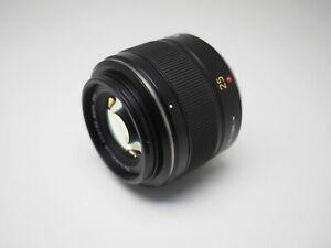 Panasonic LEICA DG SUMMILUX 25mm f1.4 Lens for Micro Four Thirds - Beautiful