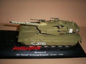 "Char Merkava III 188 "" Barak "" Armored Brigade Israel 1990 to the / Of 1 /72°"