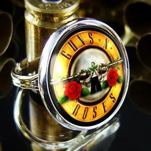 Guns N' Roses GNR Logo Handmade Sterling Silver Charm Ring