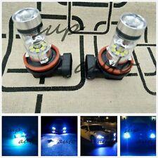 New H11 H8 H9 H16 Super Bright 8000k ice blue 55W CREE LED Bulbs Kit Fog Light