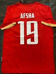 UMBRO EGYPT AL AHLY AFSHA SOCCER JERSEY Red sz MEDIUM NEW w TAGS
