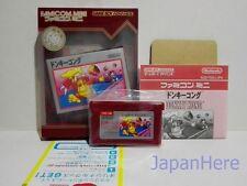 Nintendo GBA Famicom Mini  Donkey Kong Japan Import Gameboy