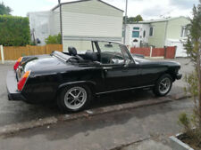 Right-hand drive Less than 10,000 miles 2 Doors MG Classic Cars