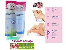 Veet Hair Removal Cream Sensitive Skin Aloe Vera & Vitamin E 50gm Travel Pack
