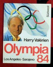 Olympia 1984 jeux Olympiques été et hiver Los Angeles Sarajevo Harry Valerien