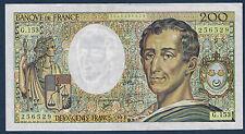 FRANCE - 200 FRANCS MONTESQUIEU Fayette n° 70.12b de 1992 en SUP G.153 256529
