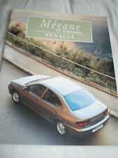 Renault Megane Classic range brochure Oct 1996 Irish market English text