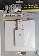 Hampton Bay White End Connector and Cover Plate 555-251 - New (Sealed)