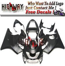 ABS Injection Fairings Kit For Honda CBR600 F4 00 1999 2000 Matte Black Bodywork