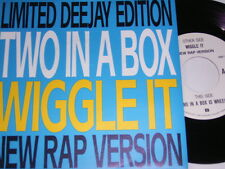 """7"""" - Two In A Box - Wiggle It (Limited Deejay Edition) 1991 # 6074"""
