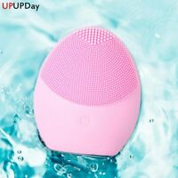 Facial Cleansing Brush Face Cleansing Brush Electric Facial Massager Silicone