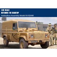 HobbyBoss 82448 1/35 Scale Defender 110 Hardtop Plastic Military Assembly Model
