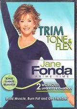 JANE FONDA Prime Time - Trim Tone & Flex + bonus relaxation BRAND NEW SEALED