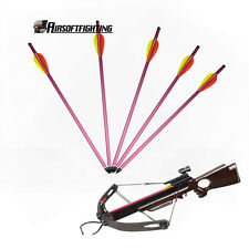 "5X 15"" 150 180 lb Aluminum Hunting Arrows for Crossbow Bow Bolts Scope Laser 80"