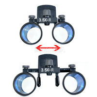 Dental Clinic Surgical dentist 3.5X-R  Clip on Loupes Binocular Magnifier Loupes