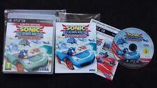 SONIC ALL STARS RACING TRANSFORMED  - PS3 PLAYSTATION - PAL ESPAÑA - COMPLETO