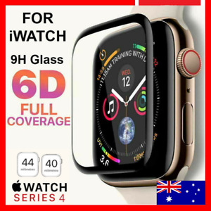 For Apple Watch iWatch Series 6 5 4 3 40 /44mm Tempered Glass Screen Protector