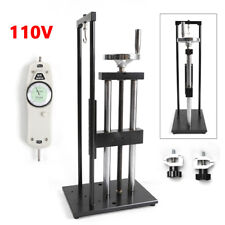 (0-500N) Push / Pull Force gauge  Manual Test Stand Tension Testing Equipment US