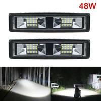 2x 48W Work Spot Light Driving Lamp Off Road Truck Boat Excavator Tractor Van