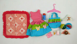 VINTAGE 1960's MATTEL BARBIE SKIPPER COUNTRY PICNIC #1933 OUTFIT