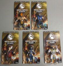 Funko Mortal Kombat X Complete Set 5 Retro Style Figures Chase Sub-Zero Scorpion