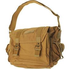 Khaki Water Repellent Canvas Messenger Shoulder Bag for SLR DSLR Cameras & Lens