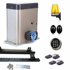 NSEE PY500AC2 600KG/1300LB Sliding Gate Door Opener Aluminum Cover Rack & Pinion