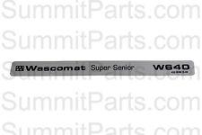 NAMESTRIP FOR WASCOMAT SUPER SENIOR W640 - 260615