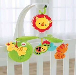 Fisher Price Grow With Me Mobile Lullabies Heartbeat Sounds NEW NIP