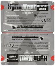 Sello Para Heridas De Pecho Zona Toráxica Primeros Auxilios Emergencia